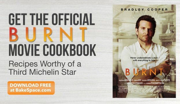 Burnt Movie Cookbook